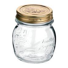 JAR GLASS 250ML- QUATTRO STAGIONI