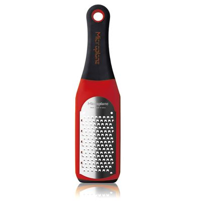 MICROPLANE GRATER RED 16CM