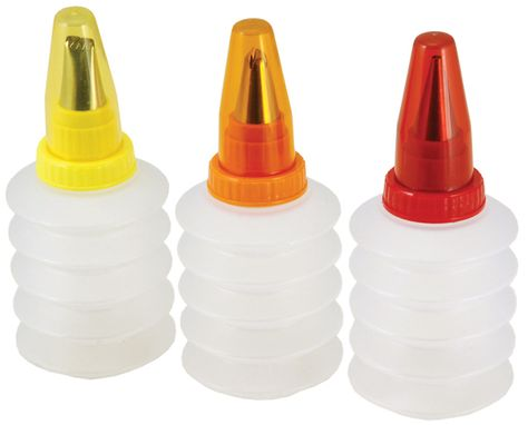 ICING BOTTLE SET 3PCE SQUEEZE TALA