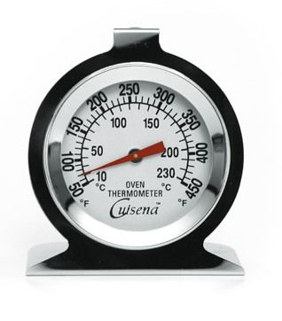 THERMOMETER OVEN DIAL 100-600.C, CUISENA