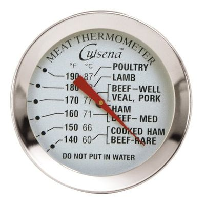 THERMOMETER MEAT DIAL 60-87.C, CUISENA