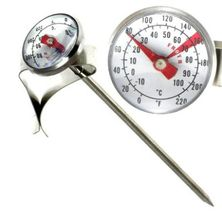THERMOMETER MILK 27MM W/CLIP, CUISENA
