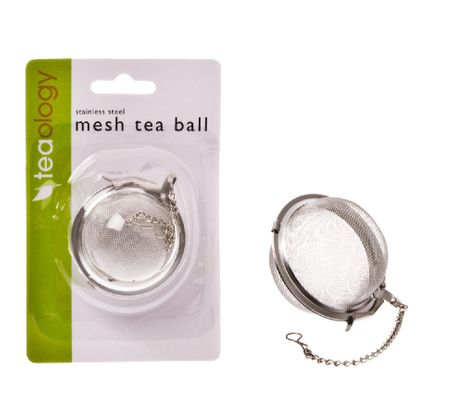 TEA BALL MESH 2.5INCH S/ST, TEAOLOGY