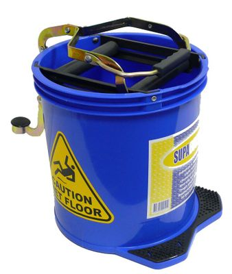 BUCKET CONTRACT WRINGER BLUE 16LT, NAB