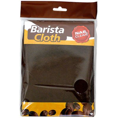 BARISTA CLOTH BROWN MICROFIBRE 60X30CM