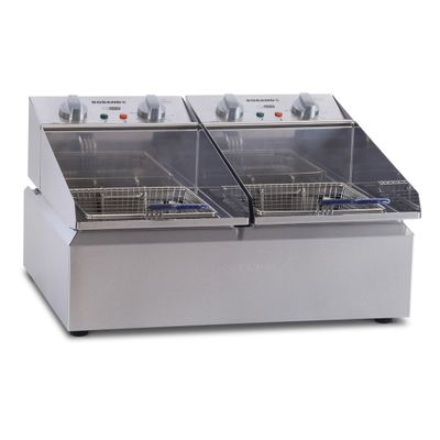 FRYPOD COUNTER TOP 2X5LT 2 BASKET ROBAND