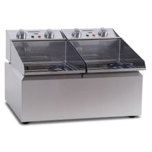 FRYPOD COUNTER TOP 2X8LT 2 BASKET ROBAND