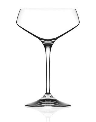 GLASS CHAMPAGNE COUPE 330ML, RCR ARIA