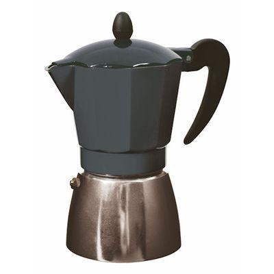 CAFFETTIERA STOVE TOP 6CUP BLK, L&B
