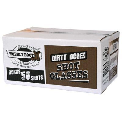 SHOT GLASS - PLASTIC CLR 30ML 300 CTN