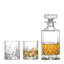 WHISKY DECANTER 750ML+ 2X DOF, RCR OPERA