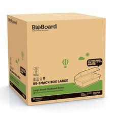 SNACK BOX BROWN LARGE, BIOBOARD 200CTN