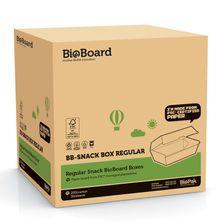 SNACK BOX BROWN REG, BIOBOARD 200CTN