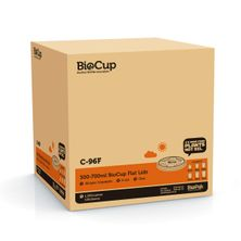 LID CLR 300-700ML , BIOPAK 1000CTN