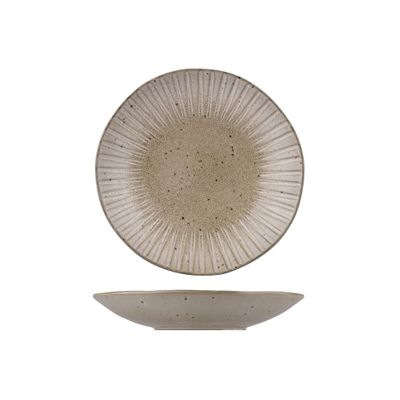 BOWL COUPE OYSTER 265MM, RUSTICO