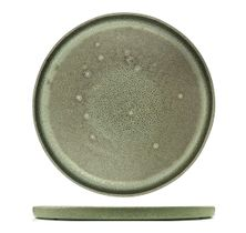 PLATE MATT GREEN 265MM, CERAMICA