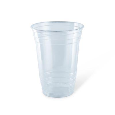 PLASTIC  CUP PET 20OZ, DETPAK 50PCE