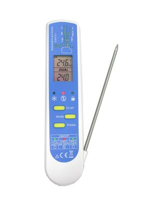 THERMOMETER HACCP INFRARED AND PROBE