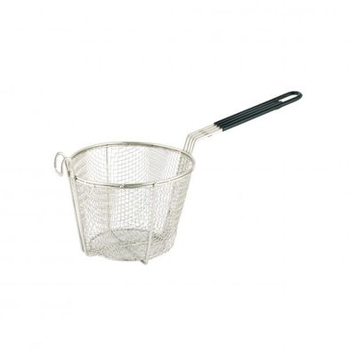FRY BASKET ROUND CHROME