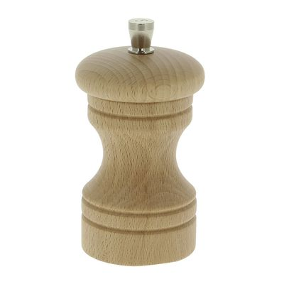 PEPPER MILL LIGHT FLAT TOP 10CM, MARLUX