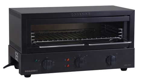 TOASTER GRILL MAX 8 SLICE BLACK ROBAND