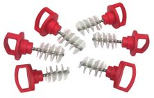 BEER TAP PLUGS 6PK, CHEF MASTER