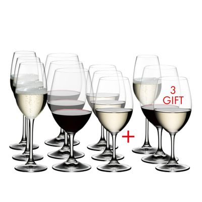 GLASS MIXED PAY9GET12, RIEDEL OUVERTURE