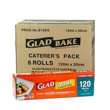GLAD BAKE 120MX30CM 6CTN
