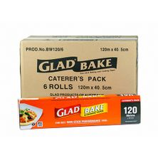 GLAD BAKE 120MX40.5CM 6CTN