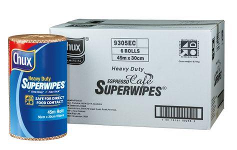 CHUX SUPERWIPES H/D CAFE 30CMX45M
