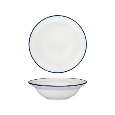 BOWL DEEP WHT/NVY 220MM, LUZERNE TINTIN