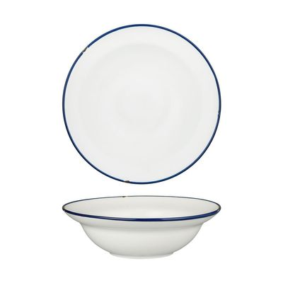 BOWL DEEP WHT/NVY 240MM, LUZERNE TINTIN