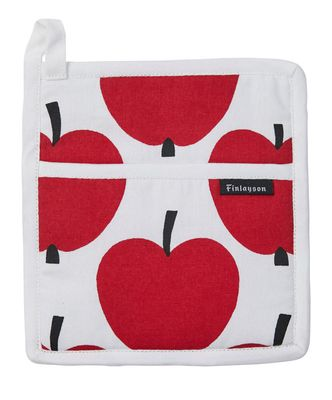 OVEN MITT RED APPLE, FINLAYSON