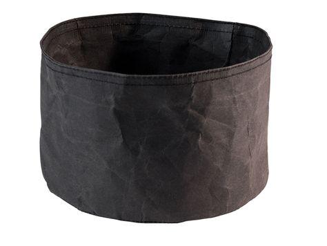 BREAD PAPER BAG BLACK 20X13CM, APS