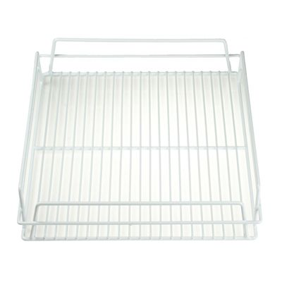 PVC GLASS BASKET WHITE