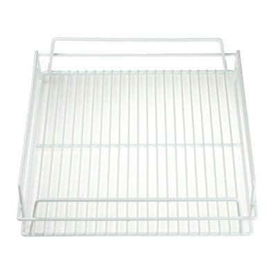 PVC GLASS BASKET WHITE