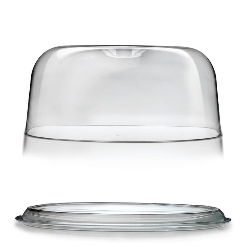 SERVING PLATE W/DOME 300MM, GINEVRA