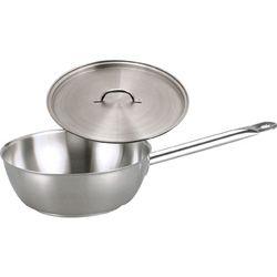 CHEF INOX SAUTE PAN W/LID