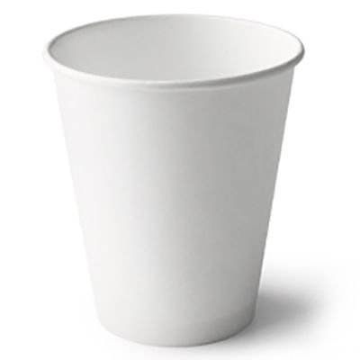 DETPAK SINGLE WALL CUP WHITE