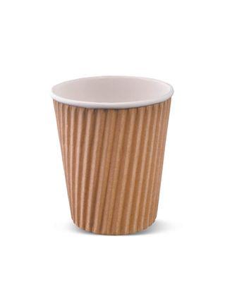 DETPAK RIPPLE CUP BROWN