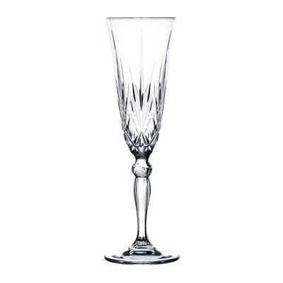 GLASS FLUTE 160ML, RCR MELODIA