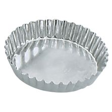 TART MOULD RND FLUTE FIXED 95X18MM,GUERY