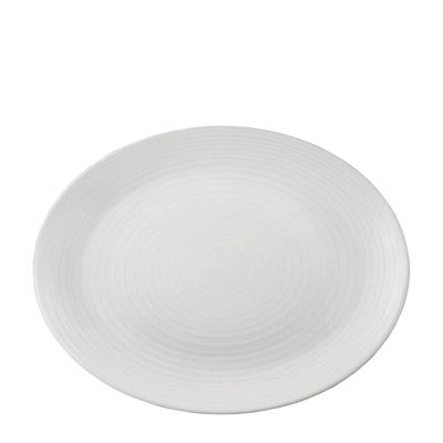 PLATE OVAL 20.5CM PEARL,DUDSON EVOLUTION
