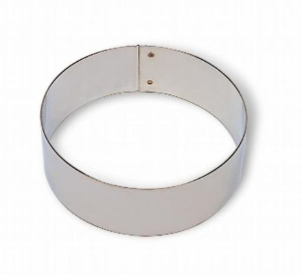 CAKE RING 50X50MM TIN PLATE, MATFER