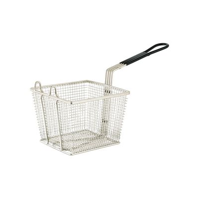 FRY BASKET SQUARE 220X225X150MM CHROME