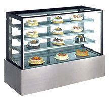 DISPLAY CABINET WARM 1200MM EXQUISITE