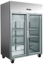 CHILLER UPRIGHT 2 DOOR GLASS EXQUISITE