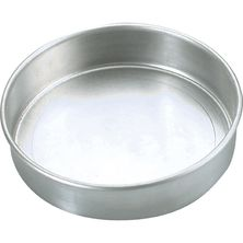 CAKE PAN ROUND 150X50MM ALUM
