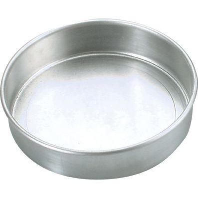 ALUM CAKE PAN ROUND
