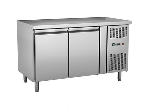 FREEZER U/BENCH 2 DOOR SOLID EXQUISITE